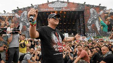 Jurek Owsiak na Przystanku Woodstock w 2011 r.