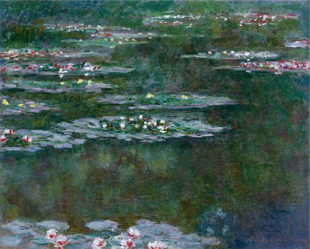 Nenufary Claude'a Moneta, obraz z 1904 r.