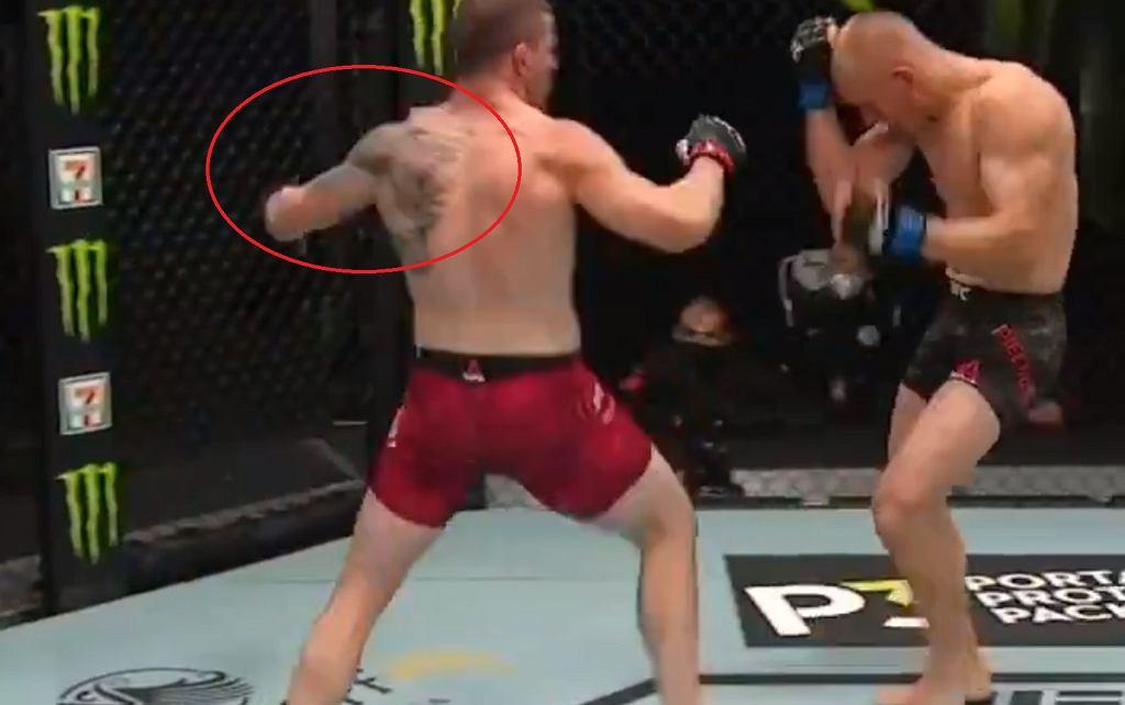 Oskar Piechota przegrał walkę w UFC