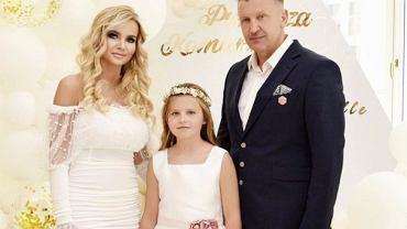 Monika Chwajol pokazała serię zdjęć z królewskiego komunii córki. 'Wyprawiłam takie przyjęcie, jakie moja rodzina zawsze organizuje'