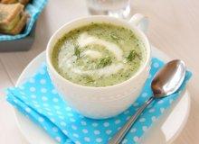 Zupa krem z ogórków małosolnych - ugotuj