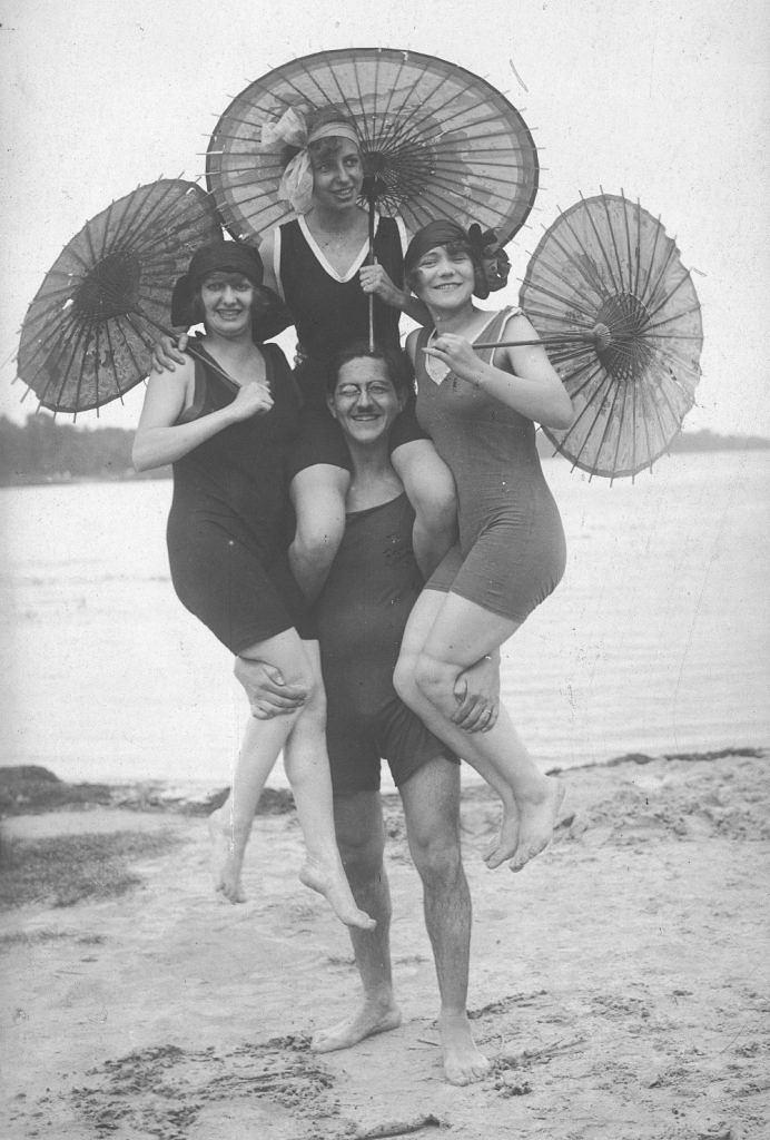 Wcześniej parasolka była nieodłącznym atrybutem damy