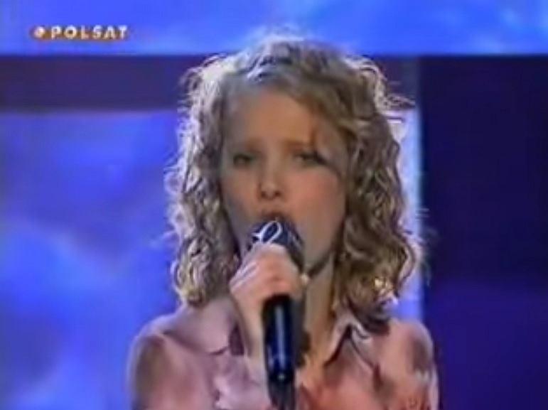 Joanna Kulig w Idolu w 2002 roku