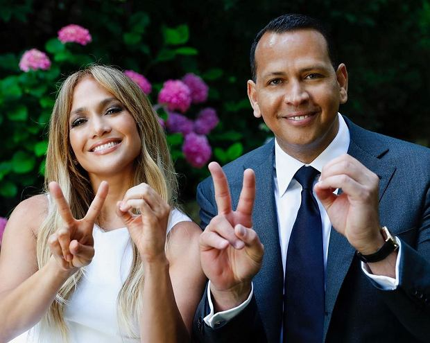 Jennifer Lopez i Alex Rodriguez - wspólny taniec