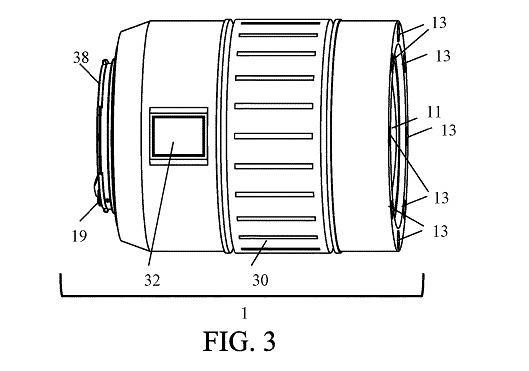 Wniosek patentowy złożony przez Canona