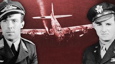 Franz Stigler, Charlie Brown i uszkodzony B-17