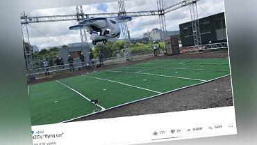 Dron pasażerski firmy NEC Corporation