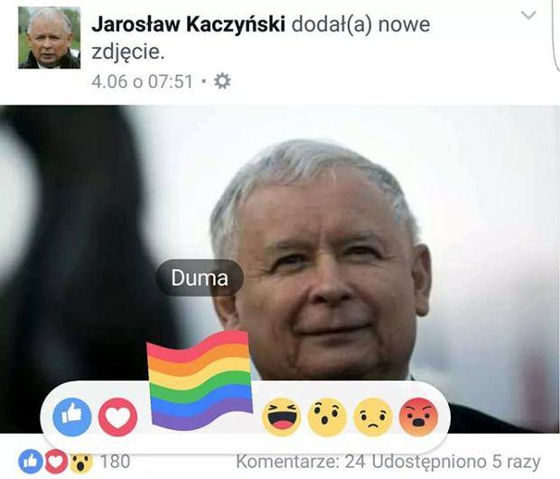 Wraz z nową reakcją Na Facebooku pojawiły się memy