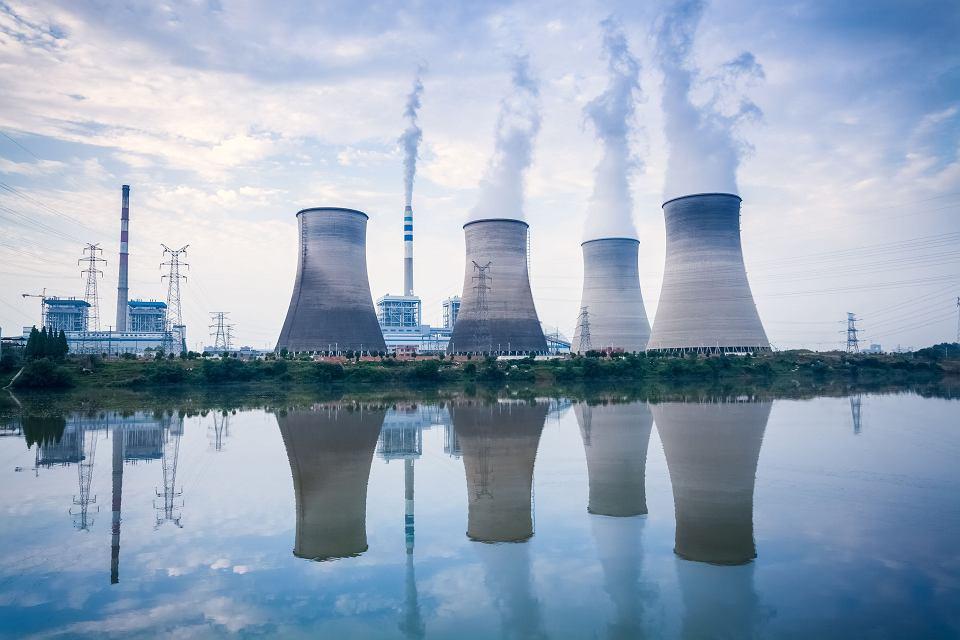Elektrownia węglowa w prowincji Jiangxi w Chinach