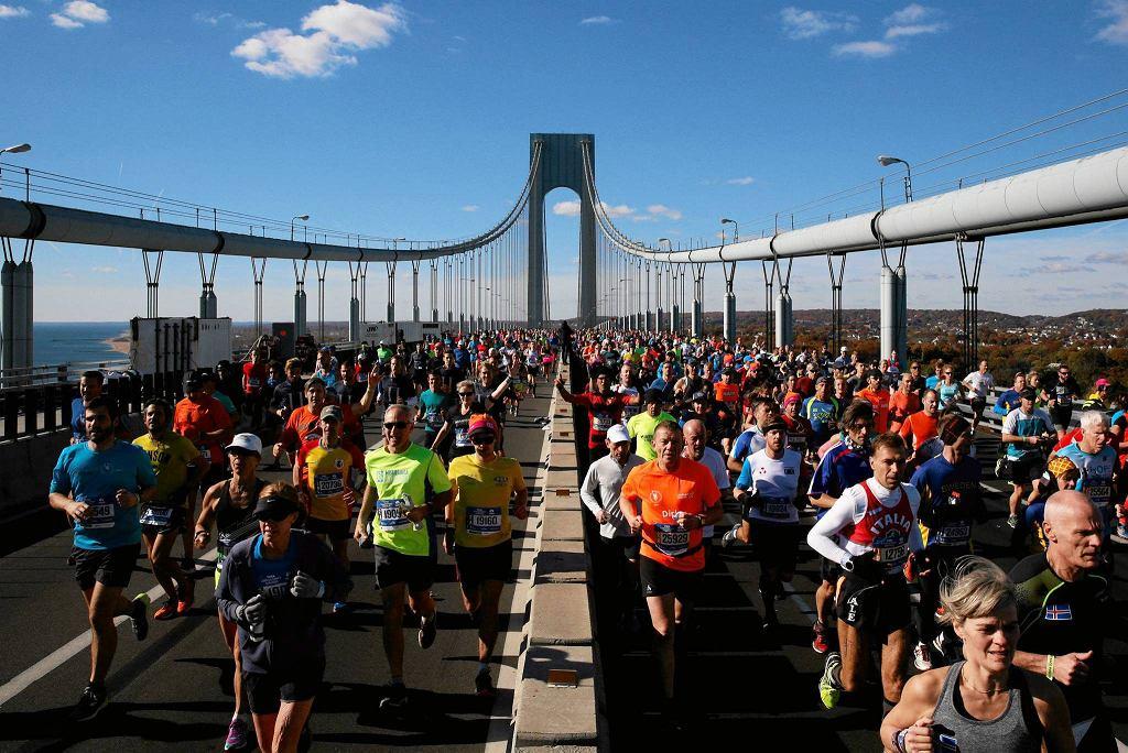 Most Verrazano to symbol maratonu w Nowym Jorku
