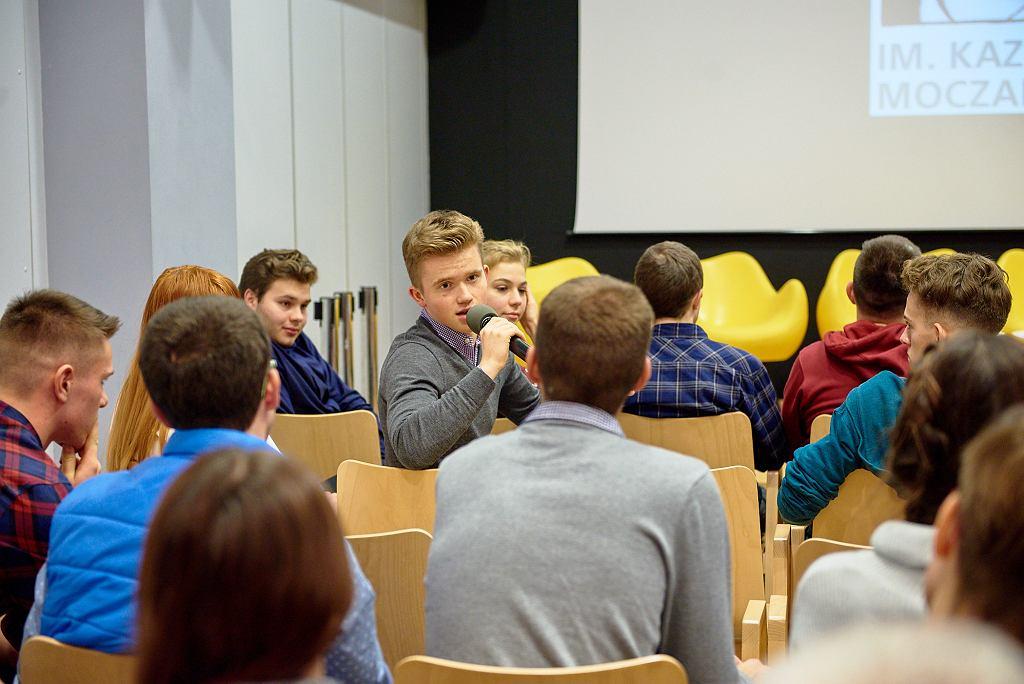Spotkanie Młodzieżowych Klubów Historycznych w Domu Spotkań z Historią w Warszawie