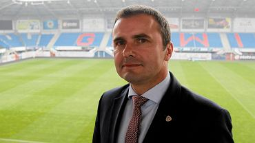 Marek Kwiatek, prezes Piasta Gliwice