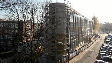 Stettiner Business Center w budowie. Widok od strony ul. Piotra Skargi