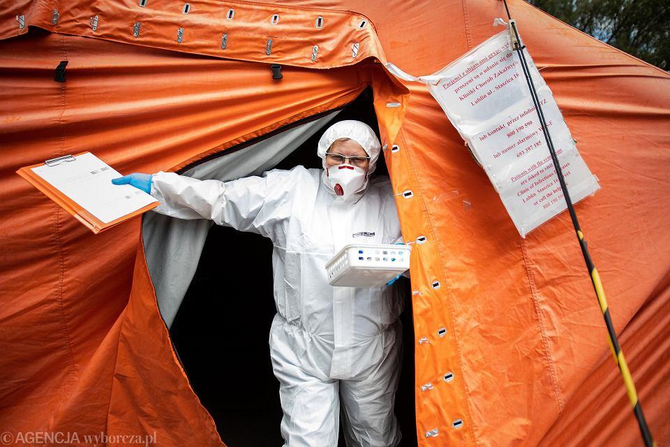 W niedzielę aż 1333 nowych zakażeń koronawirusem na Podkarpaciu. Poważna sytuacja w kilku powiatach