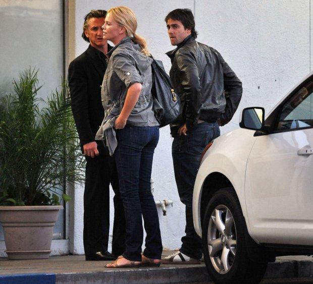 Charlize Theron, Sean Penn, Stuart Townsend