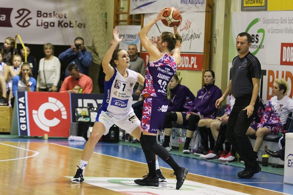 Koszykarska ekstraklasa kobiet, sezon 2017/18: AZS AJP Gorzów - Artego Bydgoszcz 60:72 (19:16, 9:21, 10:14, 22:21)