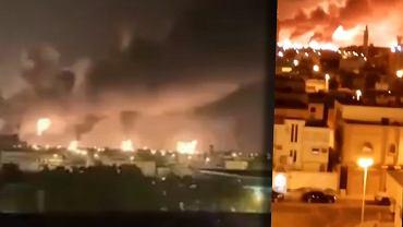 Arabia Saudyjska. Eksplozje i pożar w rafinerii ropy