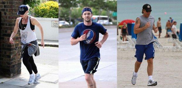 Bieganie, gwiazdy biegają, muzyka do biegania