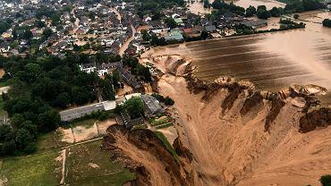 Powódź w Niemczech.