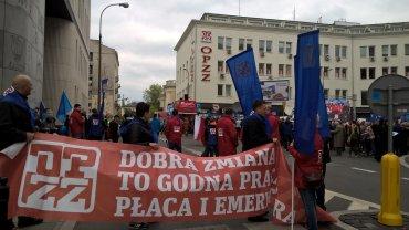 Manifestacja OPZZ
