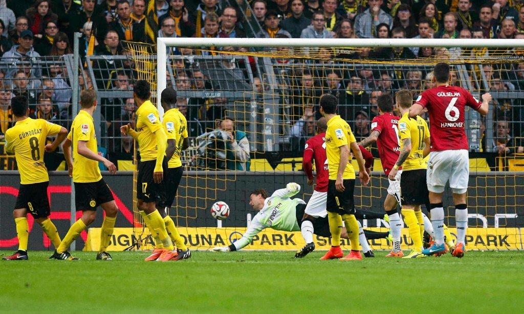 Borussia D. - Hannover 0:1