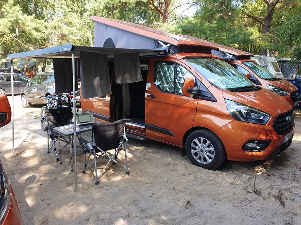 Ford Transit Custom Nugget PopTop