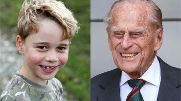 Książę George, książę Filip