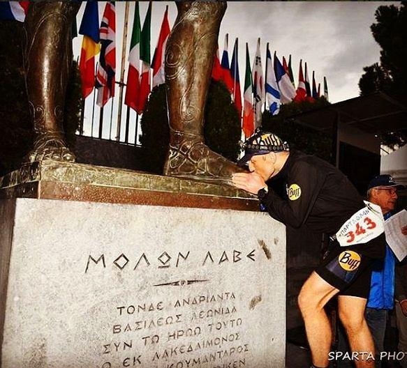Zdjęcie numer 2 w galerii - Polak wygrał morderczy bieg w Grecji. 490 km w 75 godzin!