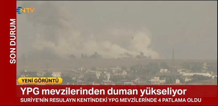 """Turcja zaczęła bombardowanie Kurdów w Syrii. Erdogan ogłasza operację """"wiosna pokoju"""""""