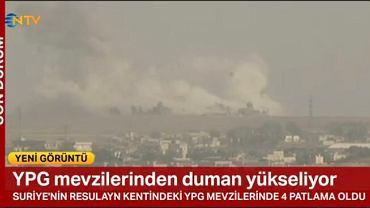 Turcja zaczęła bombardowanie pozycji kurdyjskich w północnej Syrii