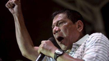 Nowy wybrany prezydemt Filipin Rodrigo Duterte