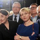 67 tys. głosów Joanny Jaśkowiak, 233 tys. Koalicji Obywatelskiej