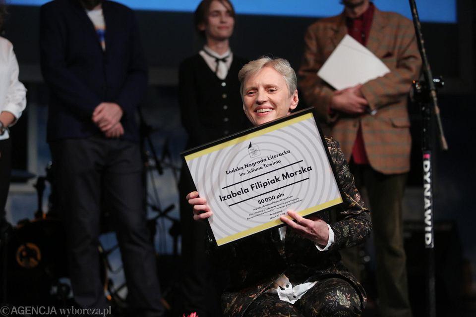 Izabela Morska z Nagrodą Literacką im. Tuwima