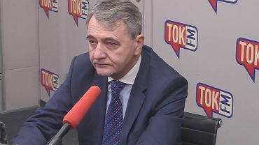 Mec. Jerzy Naumann w studiu TOK FM.