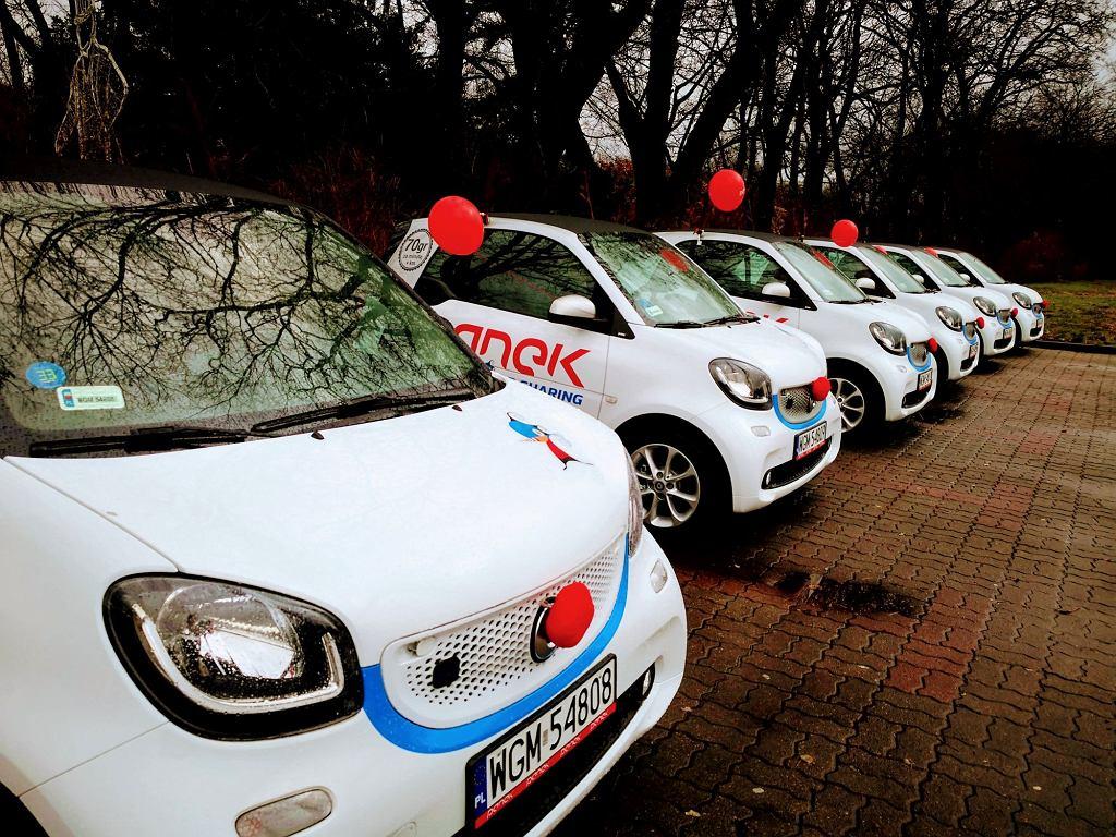 Smarty EQ w wypożyczalni Panek Car Sharing