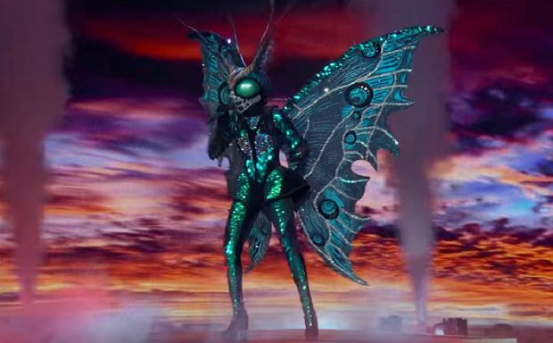 Butterfly Performs 'Livin' On A Prayer' By Bon Jovi   Season 2 Ep. 4   THE MASKED SINGER