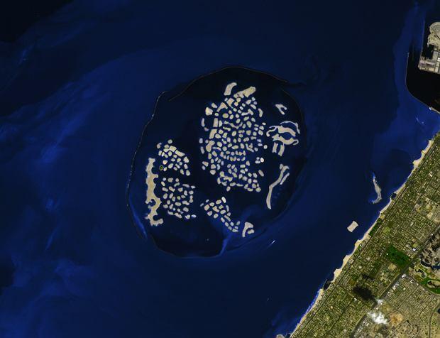 Archipelag sztucznych wysp 'The World'