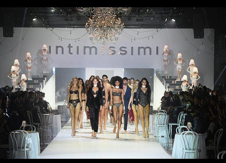 Gwiazdy na Intimissimi Fashion Show 2019.
