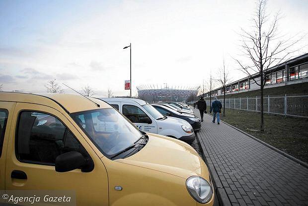 Parking przy Stadionie Narodowym