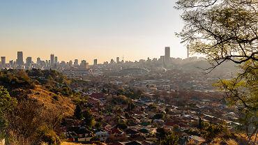 Johannesburg, największe miasto RPA.