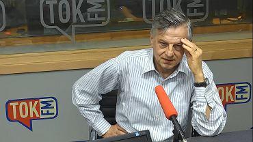 Prof. Andrzej Zybertowicz w studiu radia TOK FM