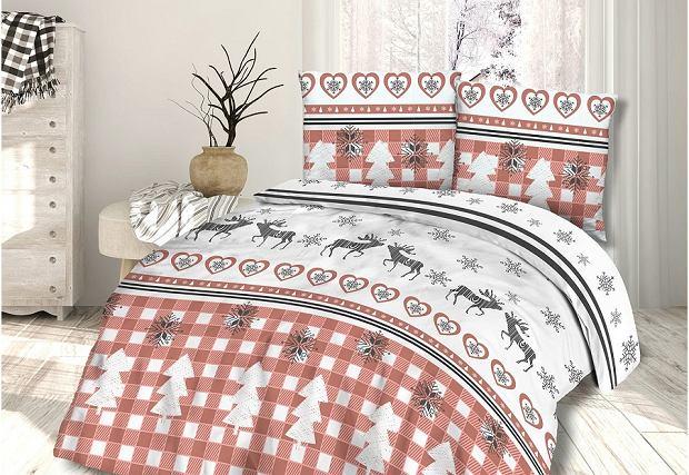 Zimowa pościel - sposób na świąteczny klimat w sypialni