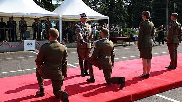 Promocja na pierwszy stopień oficerski w Akademii Wojsk Lądowych