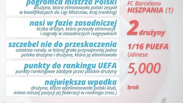 Polskie drużyny w pucharach. Sezon 2008/2009
