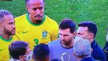 Leo Messi rozmawia z brazylijskim sanepidem