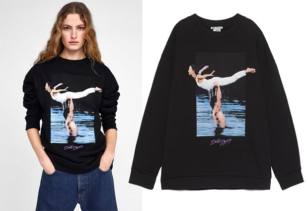 Bluza Zara 'Dirty dancing', cena: 109 zł