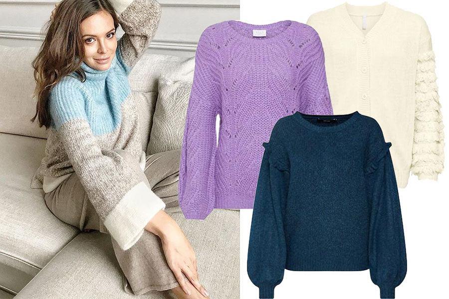 swetry z rękawami XXL/mat. partnera