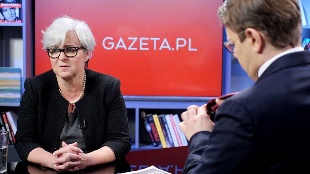 Joanna Kluzik-Rostkowska w Porannej Rozmowie Gazeta.pl