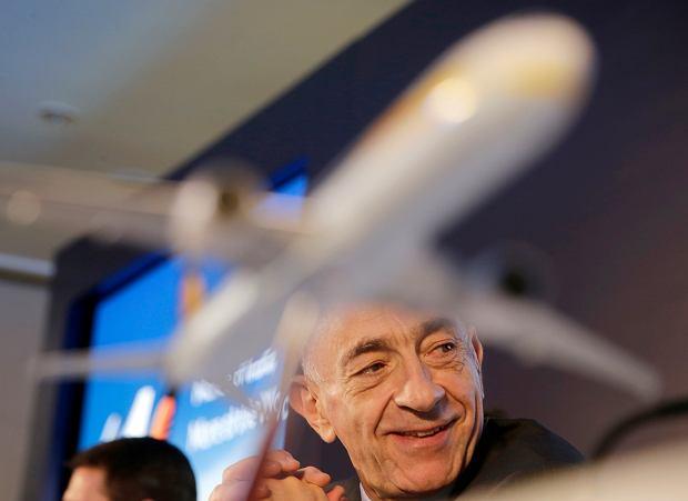 Prezes Air France - KLM Jean-Marc Janaillac zrezygnował ze stanowiska