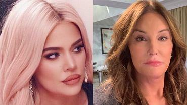 Caitlyn Jenner i Khloe Kardashian -  nie mają kontaktu od dwóch lat